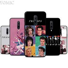 Friends TV Silicone Case for Oneplus 7 7Pro 5T 6 6T Black Soft Case for Oneplus 7 7 Pro TPU Phone Cover