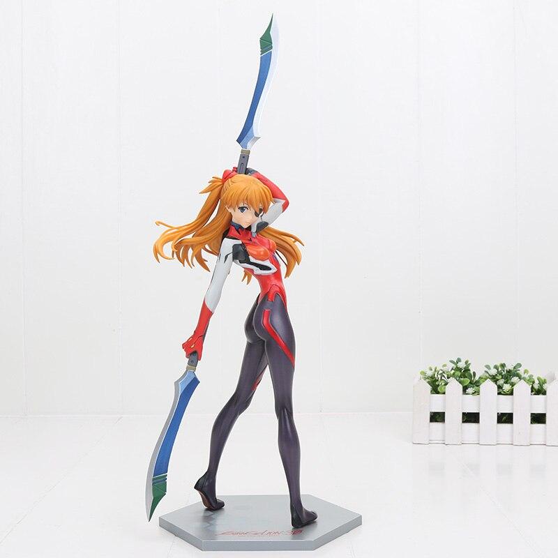 27cm Anime NEON GENESIS EVANGELION EVA Shikinami Asuka Langley PVC Action Figure Toys Model Dolls