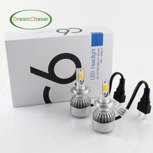 2X H7 Led H4 Car Headlights 72w 7600lm Car Led Light Bulbs H1 H3 H8 H9 H11 9005 9006 Automobiles Headlamp 6000K/3000K Fog Lamps
