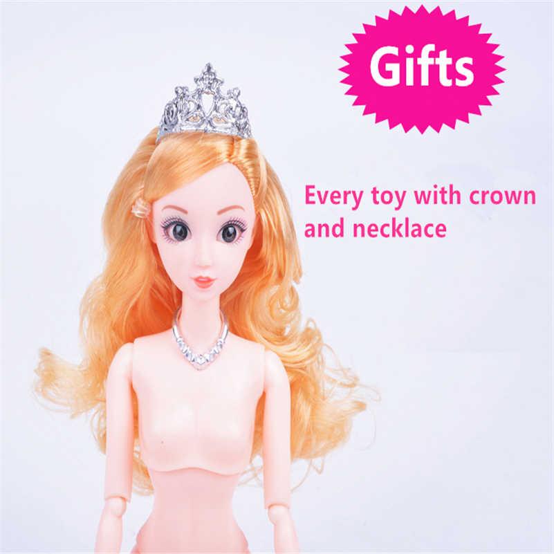 12 articulações Do Corpo da Boneca para Bonecas Corpo Nu Feminino Figura Brinquedos Para meninas de Mini Corpo Móvel Bonecas Brinquedos Boneca Articulada menina