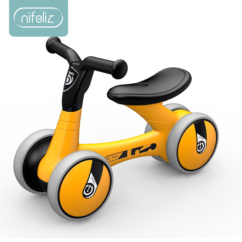 Bébé Balance vélo marcheur enfants monter sur jouet cadeau pour les enfants de 1-3 ans pour apprendre la marche Scooter