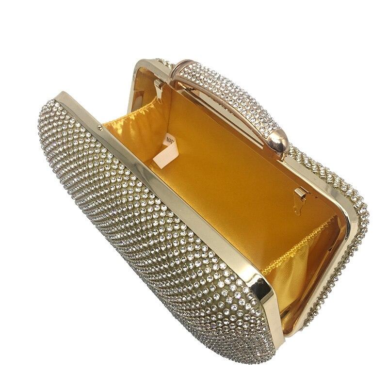Donne Cerimonia argento Frizione Con Sposa Diamanti Da Catena Di Delle Strass Nuziale Signore Cristallo Borsa Sera Borse Sacchetto Oro OxZwOUrYq