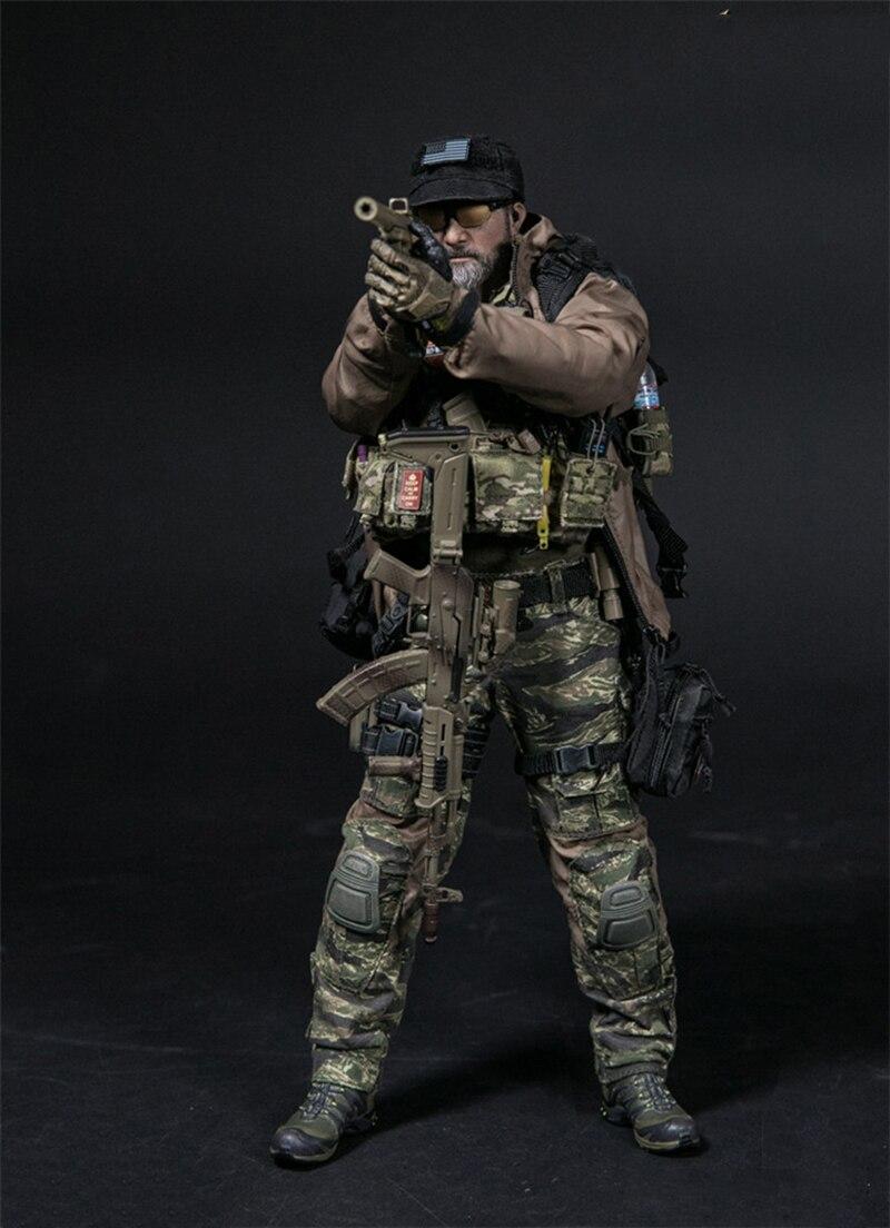 Pouches Set x6-1//6 Scale Soldier Story Kommando Spezialkrafte Marine