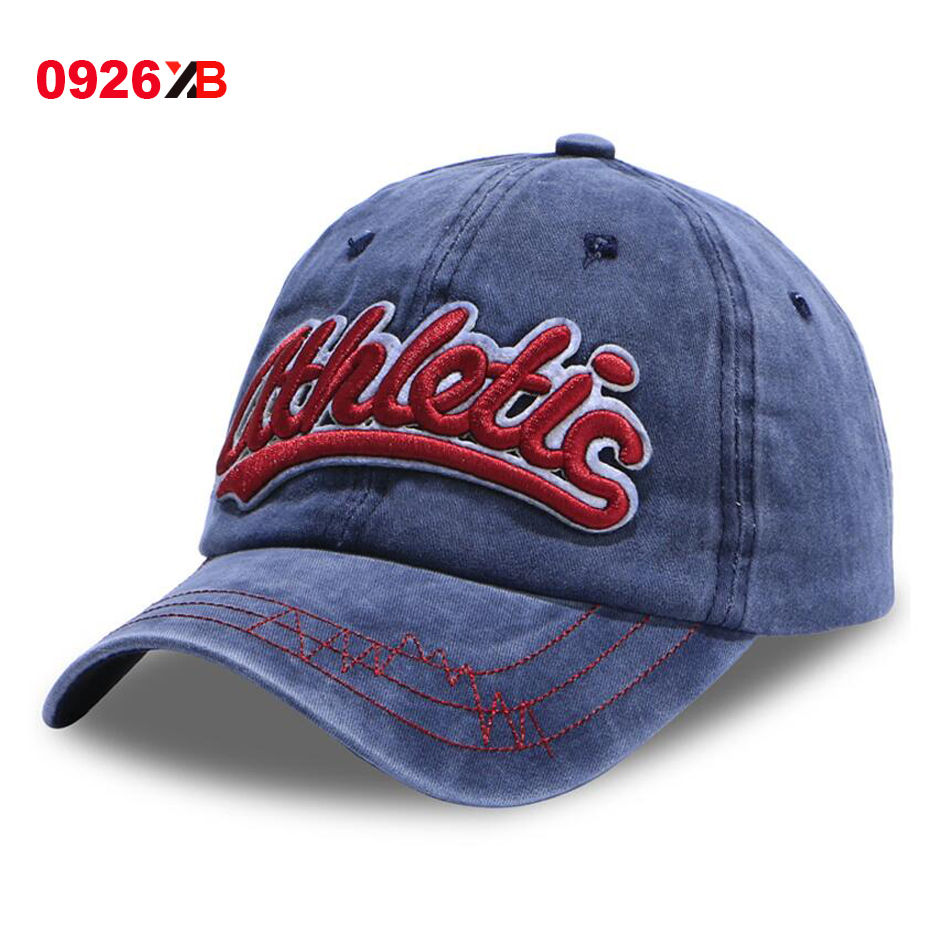 2017 New Fashion Dad hat athletic Embroidery summer Casual ...