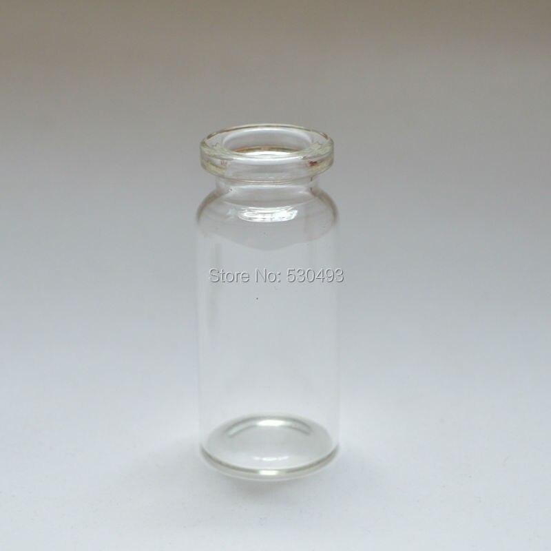 22 50mm Empty Cute Message Glass Bottle Mini Wishing Glass Bottles Cork Stopper 10ml Clear Vials