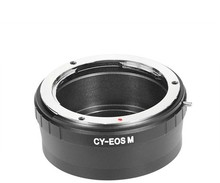 Lens adapter for Contax Yashica mount C/Y CY lens to Canon E0S M EF-M mount Mirrorless adapter