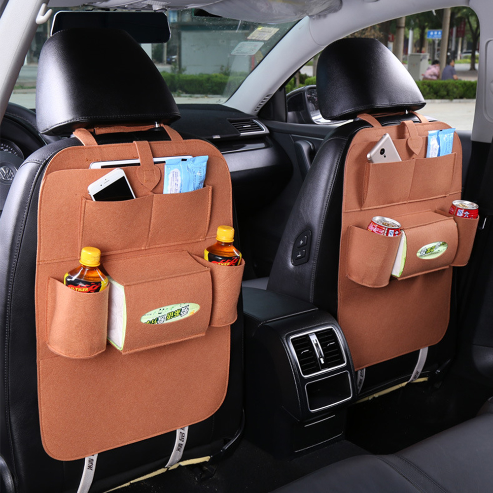 Automobile Accessories Car Seat Bags Car Styling Hanging Bags Car Seats Back Seat Pockets Baby Shopping Cart Cover Seat Pockets