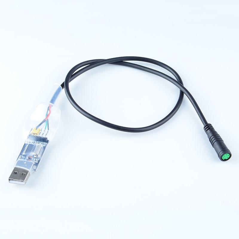 CBSBIKE USB Programming Cable For 8fun / Bafang BBS01 BBS02 BBS03 BBSHD Mid Drive  Center Electric Bike Motor Programmed