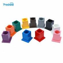 Juguete del bebé Conjunto de 11 Lápices De Madera de La Primera Infancia Montessori Preescolar Niños Brinquedos juguetes
