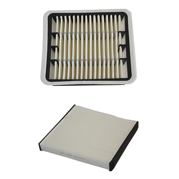 Samochód filtr powietrza filtr kabinowy dla Lexus LS430 4 3L 2000-2006 17801-50030 87139-50030 tanie i dobre opinie MANATEE 17801-50030 87139-50030 2005 2001 2003 2004 2002 HTK-2008 HTT-1008 China filter paper 0 4kg