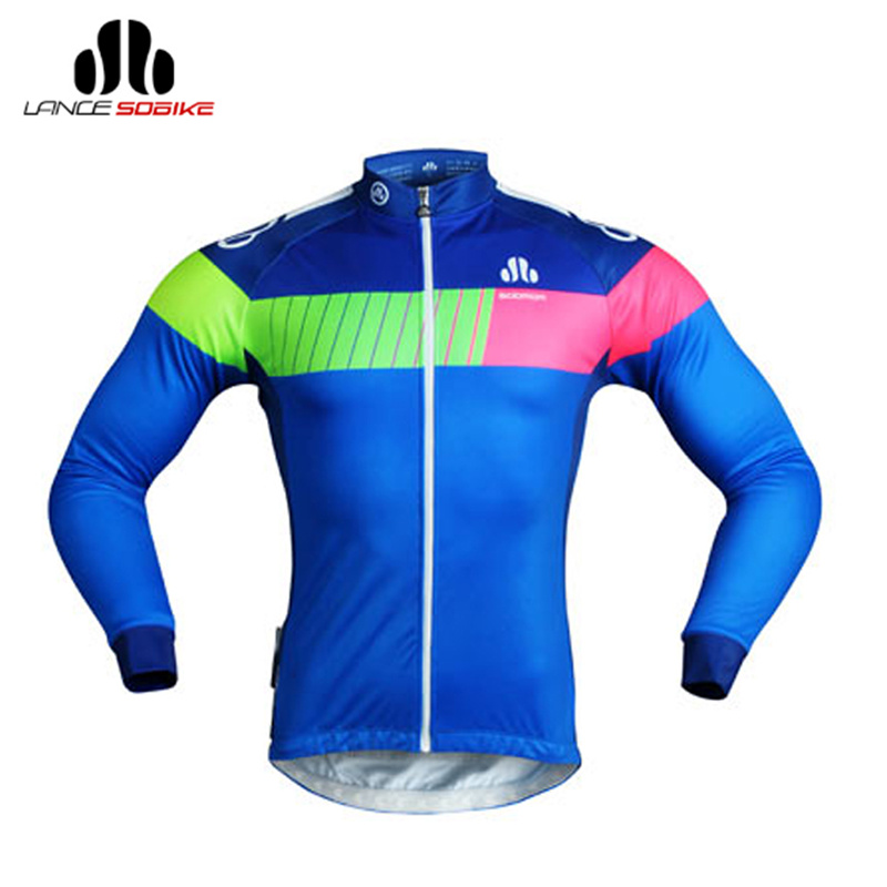 SOBIKE Running Jacket Cycling Winter Fleece Thermal Jackets Wool Breathable Jersey Long Sleeves Bicycle Mount Road