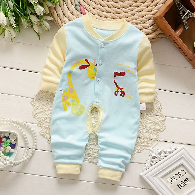 PMGZGLY Summer Baby Rompers Brand Baby Costumes Baby Boys Girls Clothes 3 6 9 Months Cute Infant Jumpsuit Clothing Rompers
