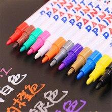 Роскошная ручка цвета краска Перманентный маркер ручка краска ing масляная канцелярская ручка