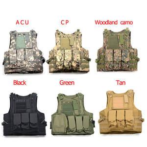 49433250140 Airsoft 800D Oxford Military Tactical Vest Multi Colors Paintball Vest