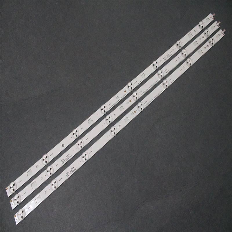 3pcs X LED Backlight Strip For S-ONY 32 TV For SAM SUNG 2014 SONY DIRECT FIJL 32V A3228 8LEDs REV1.2 140404 8 LEDs 612mm