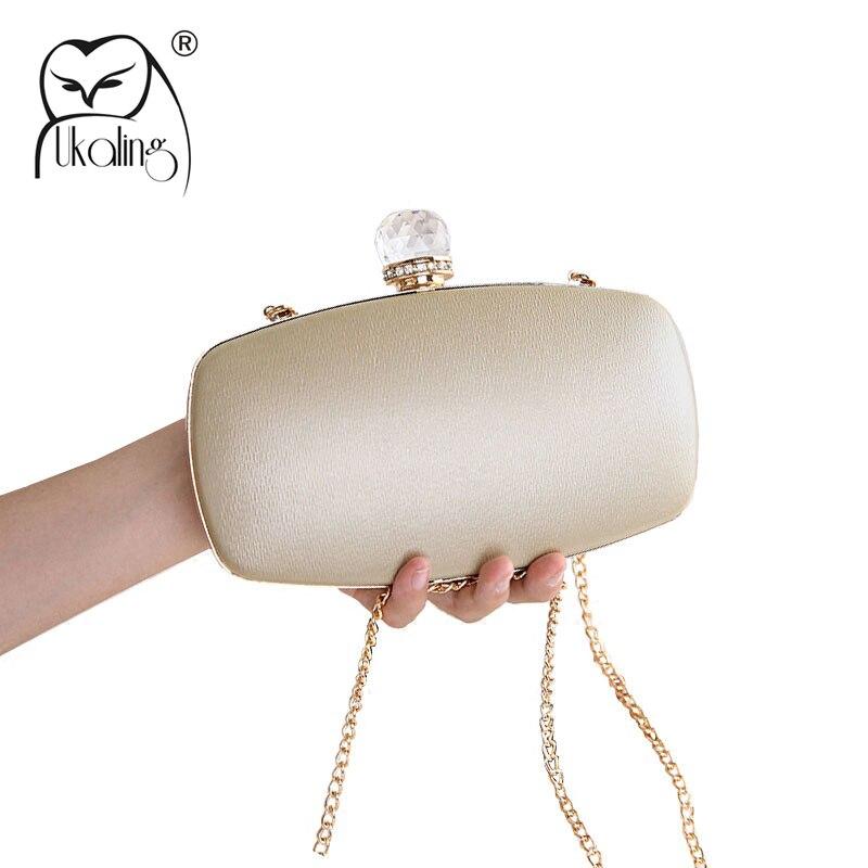 UKQLING Minaudiere Evening Bag Women Clutch Purses Hand Bag Women Wedding Bridal Handbag Party Purse Box