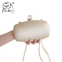 01667f856 UKQLING Minaudiere Evening Bag Women Clutch Purses Hand Bag Women Wedding  Bridal Handbag Party Purse Box
