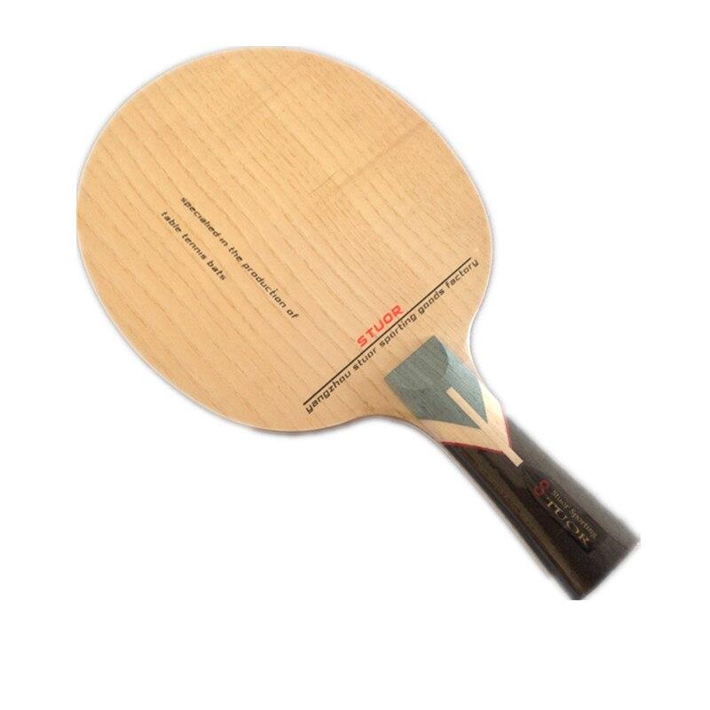 Настольный теннис мяч опорная плита 7 углерода Нижняя пластина 5 Pure деревянный зажим мягкий золы древесина