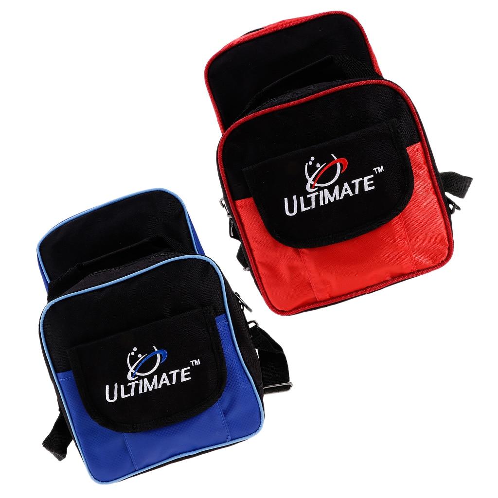 MagiDeal 2019 Bowling Ball Pocket Bowling Ball Tote Bag Handbag/Crossbody Bag with 2 compartments 23x28x33cm
