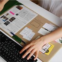 1Pcs Office Big Mouse Mat Office Accessories Organizer Desk Office Organizer Organizador Escritorio Stationery Holder 6124