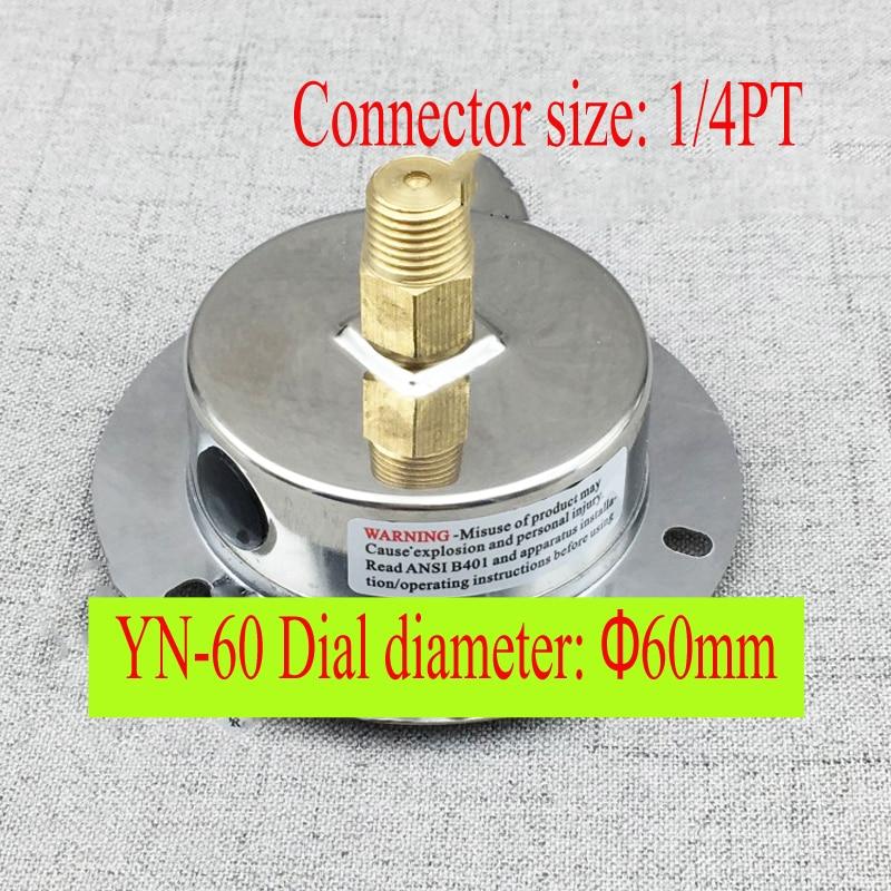 YE-60ZT Manometro digitale a bordo assiale, micro misuratore di - Strumenti di misura - Fotografia 6