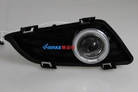 EOsuns CCFL Angel Eye Led Daytime Running Light DRL Fog Light Projector Lens For Mazda 6