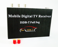 Hot Car Accessories High Definition Full Seg Digital ISDB T Receiver with dual tuner for Philippine Peru Brazil Argentina