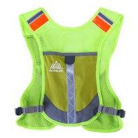 AONIJIE 10L Marathon Reflective Vest Bag Sport Running Cycling Bag Men Women Safety Gear Outdoor Running