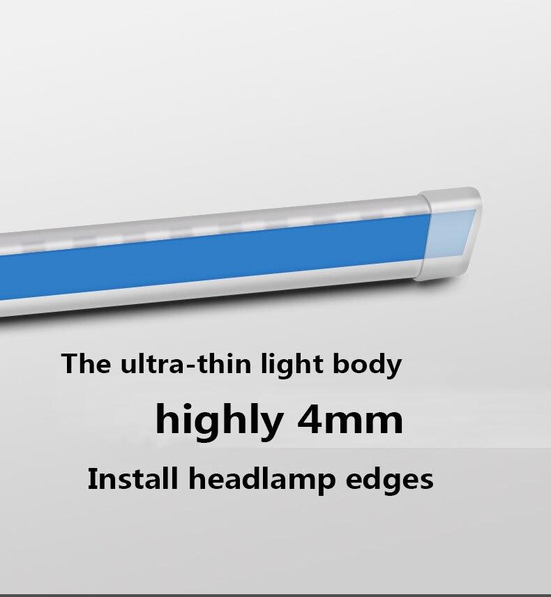 diurna com fluxos pisca luzes para o