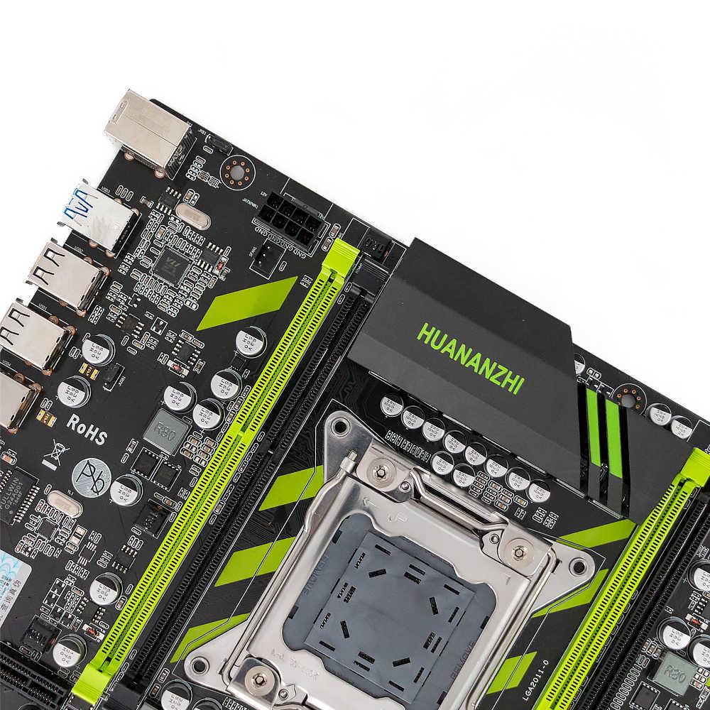 هوانان تشى X79-ZD3 اللوحة ل إنتل LGA 2011 E5 1650V2 2650V2 2680V2 2678V3 DDR3 1333/1600/1866MHz 64GB M.2 NVME MATX