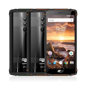 Image 2 - Homtom ZOJI Z9 Helio P23 OCTA Core 5.7 นิ้ว IP68 Heart RAT สมาร์ทโฟน 6GB RAM 64GB ROM 16MP CAM 5500mAh 4G LTE