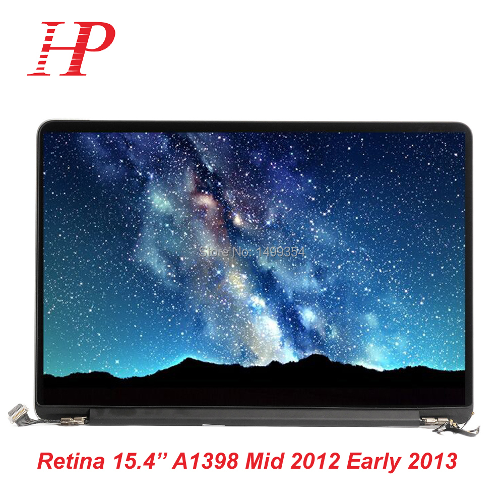 Genuine Used 2012 Early 2013 Year A1398 LCD Screen For Macbook Pro 15''Retina A1398 LCD Screen Assembly 976 975  664 665  high quality for macbook pro 15 retina a1398 lcd assembly screen 2015 year mjlt2 mjlq2