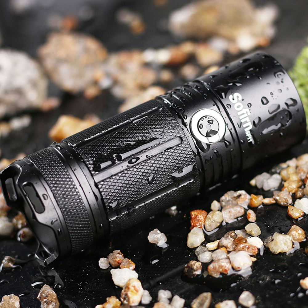 sofirn sf11 powerful led flashlight cree xpl 1100 lumen. Black Bedroom Furniture Sets. Home Design Ideas