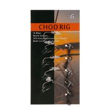 5 Pcs Fishing Hook Anti Tangle Line Transparent Tackle Carp Ready Rigs Connected Accessories 2/4/6/8# Hooks High Carbon Steel