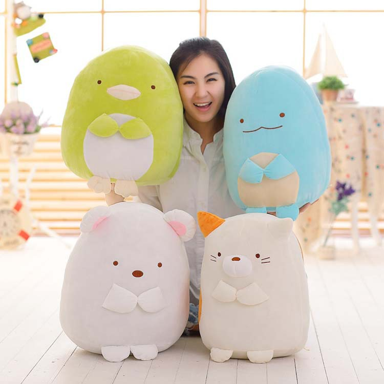 45 cm Sumikko Gurashi san-x japonais Anime coin Bio poche biologique doux en peluche peluche Animal jouet oreiller bébé en peluche jouets