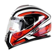 Горячая Продвижение Анфас Шлем Мотоцикла Мотоцикл Гонки Шлем Защитные Capacete Каско YS801 L-XXL