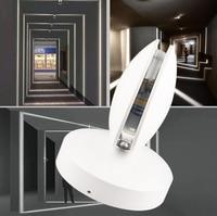 220 В 360 градусов 10 Вт современный настенный светильник светодиодный настенный светильник крыльцо огни настенные бра клуб бар отеля прихожая
