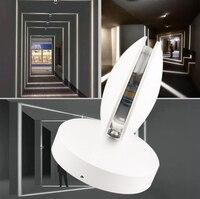 220V 360degree 10w modern Wall lamp LED Wall Light Fixture porch lights Wall Sconces Club Bar Hotel Hallway Ceiling Decoratiive
