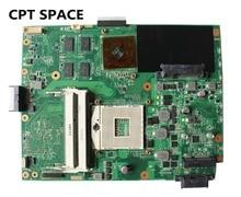 ASUS K52JR Laptop Anakart DDR3 REV için: 2.3A 4 parça video belleği K52J A52J K52JT anakart testi ve ücretsiz shiopping için fit