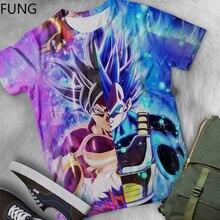 Dragon Ball T Shirt 3d Print T-shirt Anime Men T Shirt Funny T Shirts Hip Hop 2019 Streetwear Men's Short Sleeve T Shirt Top Tee