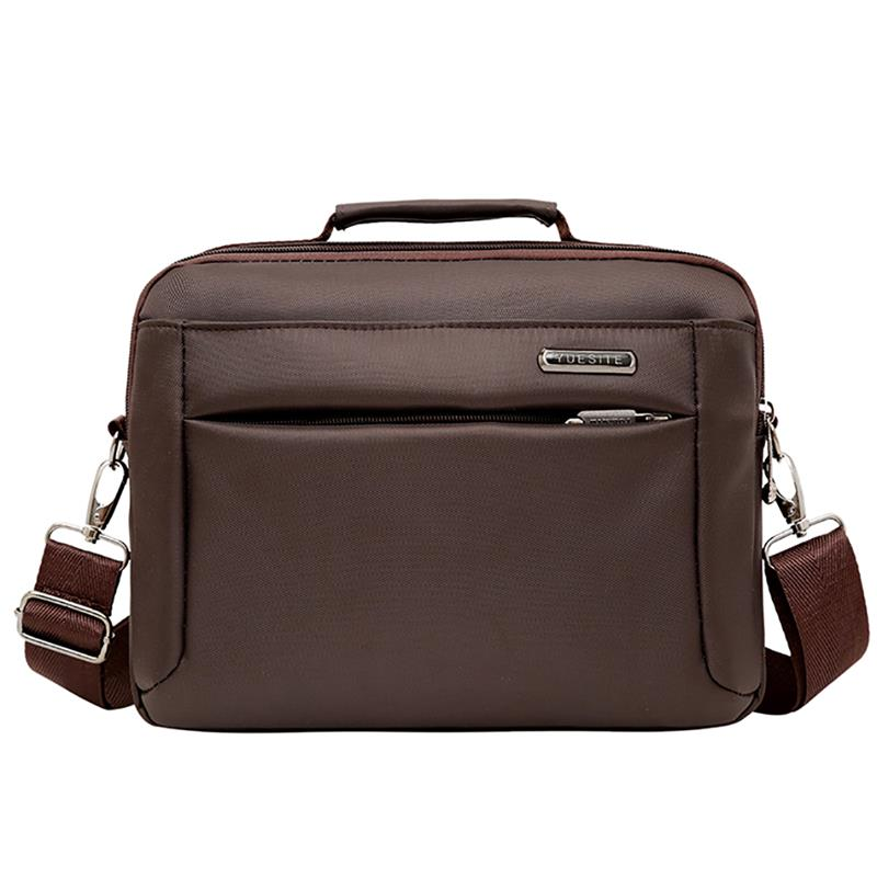 2019 New Men Oxford Handbag Zipper Men Business Polyester Laptop Soft Handle Briefcases Bags Shoulder Crossbody Bag