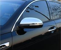 ABS CHROME Car Side Mirrors Rearview Cover Trim For 16 17 18 KIA K5 Optima 2016 2017 2018 Free Shipping