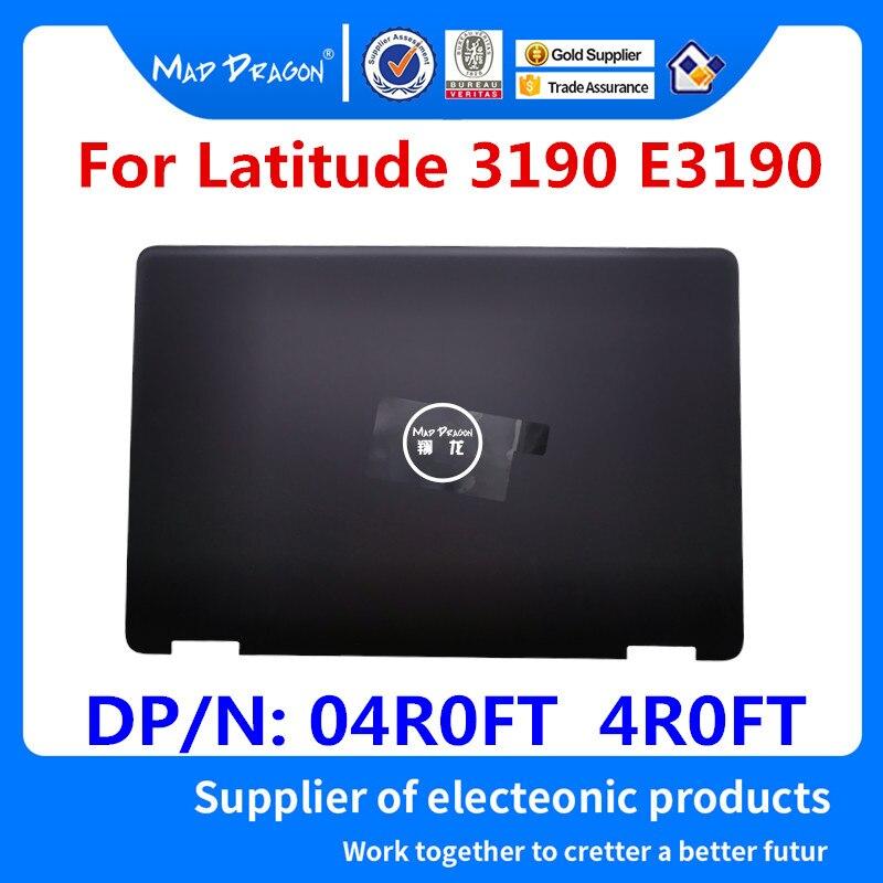 MAD DRAGON marque ordinateur portable nouveau LCD couverture arrière couvercle arrière Top Case noir pour Dell Latitude 3190 E3190 04R0FT 4R0FT AP23Z000100