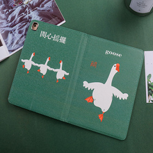Case For ipad pro 11inch 2018 Cute Goose Shockproof Folio Stand Cover Magnetic Flip Auto Sleep/Wake up Pro11