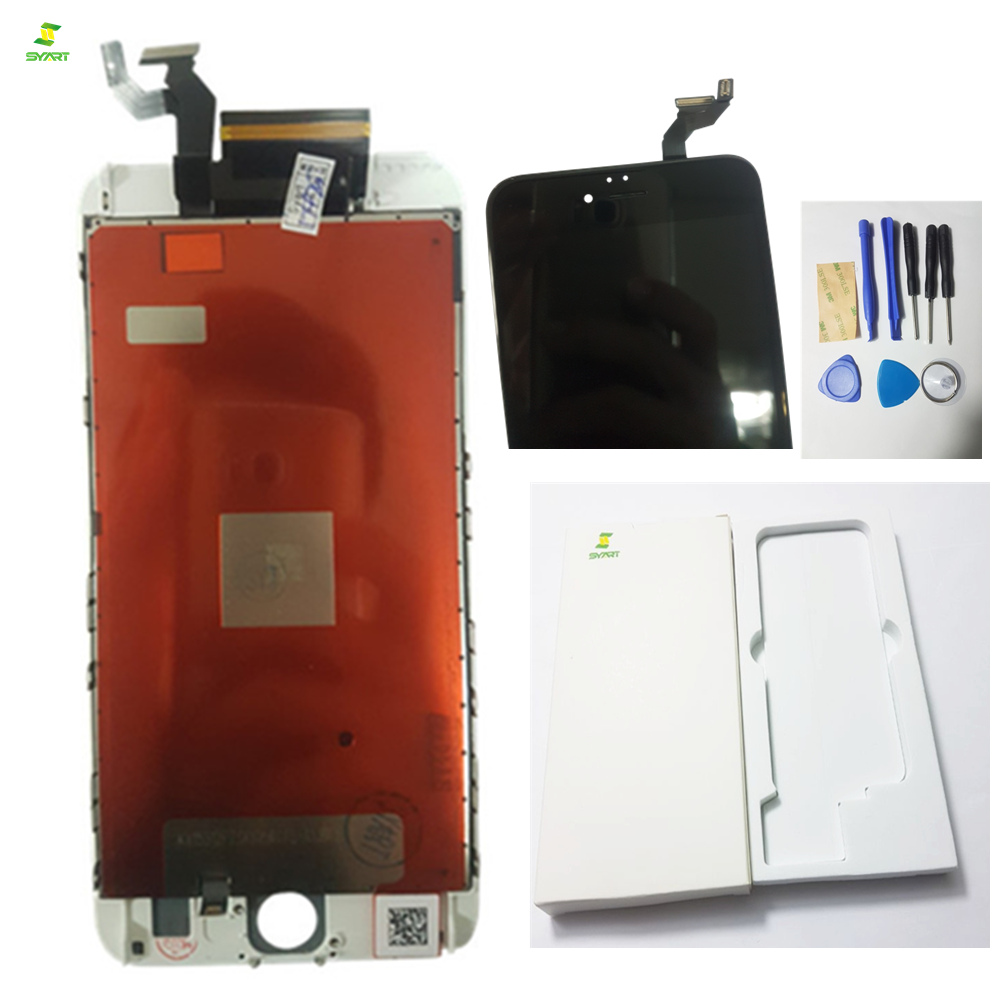 Full Lcd Repair For iPhone 6S Plus LCD Screen Glass Display With Touch Screen Digitizer Assembly Complete Black White Colors ...