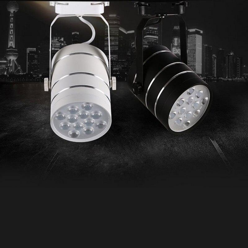 commercial art gallery led track lighting rail 7w led spotlight ceiling lamp fixture front mirror light art track lighting