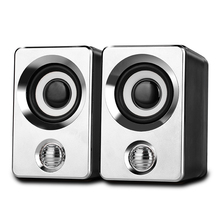 USB Speaker Mini Portable with HD Audio Strong Compatibility for Notebook Desktop Computer SP99