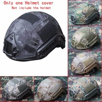 Outdoor Airsoft Paintball Wargame Army Airsoft Tactical Fast Helmet Cover ACU By High Quality Canvans Material