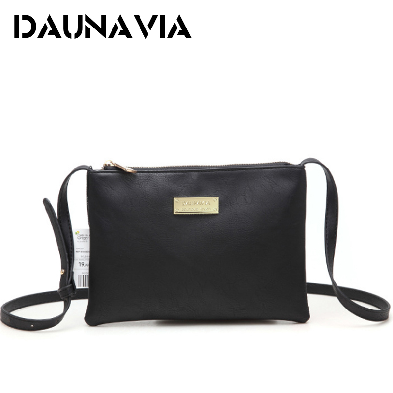 DAUNAVIA Women Handbags Designer Leather Women Messenger Bags Shoulder Bag Female Ladies Clutch Handbags clutch bags for women