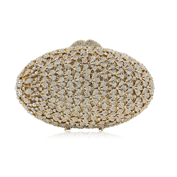 XIYUAN Clutch Diamonds Beaded Metal Evening Bags Chain Shoulder Messenger Purse Evening Bags For Wedding party prom Bag gold sekusa pu fashion women diamonds luxurious evening bags clutch messenger shoulder chain handbags purse beaded wedding bag